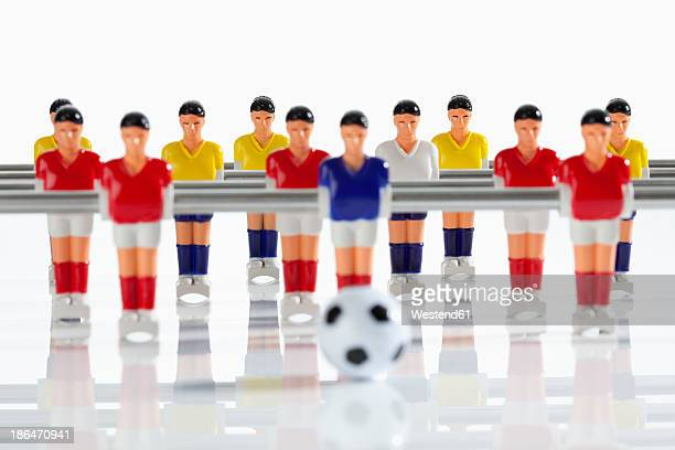 Figurines of table football