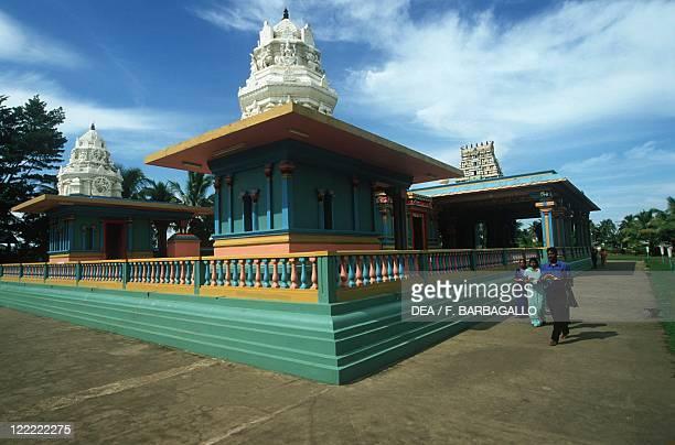 Fiji Island of Viti Levu Nadi Hindu Temple Sri Siva Subramaniya Pilgrims
