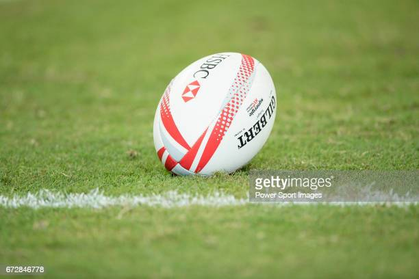 Fiji vs South Africa during the Day 2 of the HSBC Singapore Rugby Sevens as part of the World Rugby HSBC World Rugby Sevens Series 201617 at the...