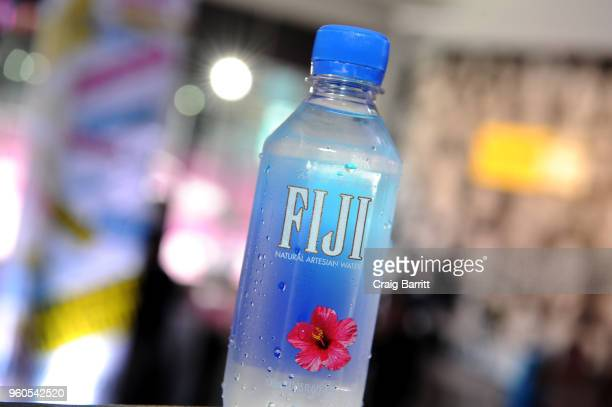 Fiji Water is offered in the Vulture Lounge on Day Two of the Vulture Festival Presented By ATT at Milk Studios on May 20 2018 in New York City