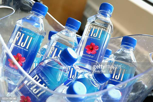 Fiji water on display at the 2016 Vulture Festival at Milk Studios on May 22 2016 in New York City