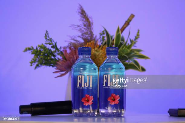 Fiji water on display during Boozy Brunch With Your Best Friends on Day Two of the Vulture Festival Presented By ATT at Milk Studios on May 20 2018...