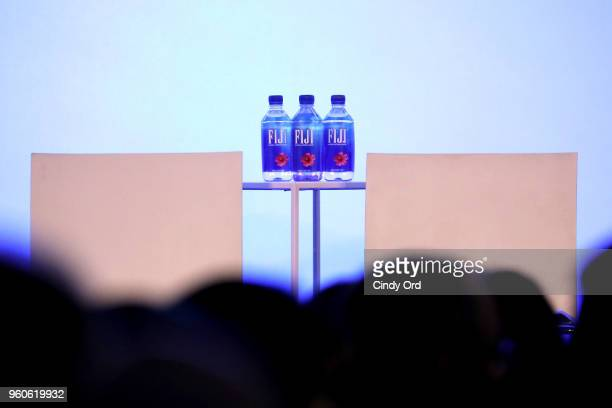Fiji water on display during Day Two of the Vulture Festival Presented By ATT at Milk Studios on May 20 2018 in New York City