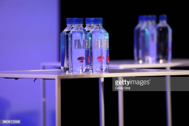 Fiji water on display during Fix This It's Ray Donovan on Day Two of the Vulture Festival Presented By ATT at Milk Studios on May 20 2018 in New York...
