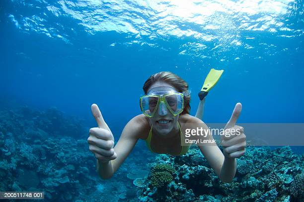 Snorkeling Stock Photos And Pictures Getty Images