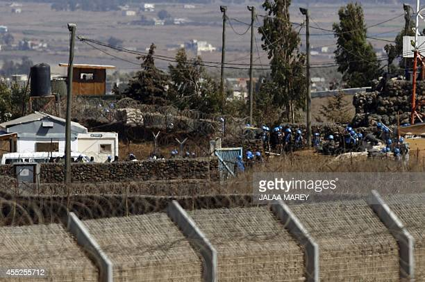 UN Fijian peacekeepers serving in the United Nations Disengagement Observer Force who were kidnapped two weeks ago in the Syrian side of the Golan...