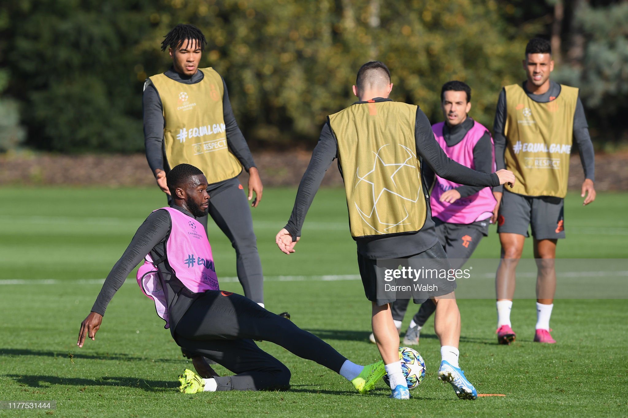 Chelsea Training Session : News Photo
