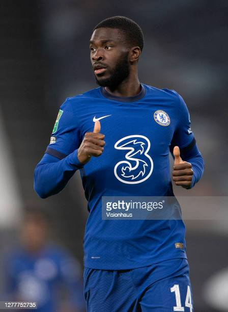Fikayo Tomori of Chelsea during the Carabao Cup fourth round match between Tottenham Hotspur and Chelsea at Tottenham Hotspur Stadium on September 29...
