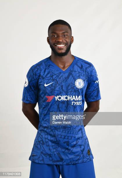 Fikayo Tomori of Chelsea during the media open day at Chelsea Training Ground on July 29 2019 in Cobham England