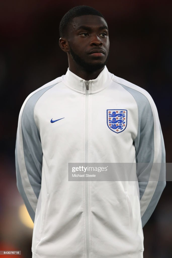 Fikayo Tomori of England U21's during the UEFA Under 21 Championship Qualifier match between England and Latvia at the Vitality Stadium on September 5, 2017 in Bournemouth, England.