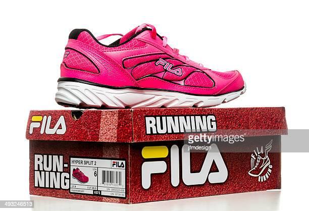 Fila women runner shoe and box