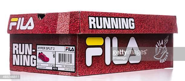 Fila women runner shoes box