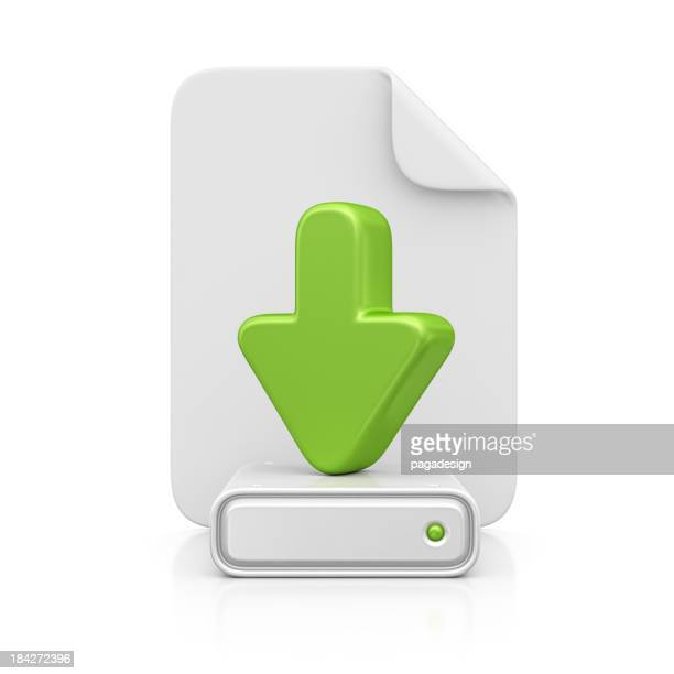 file and download icon