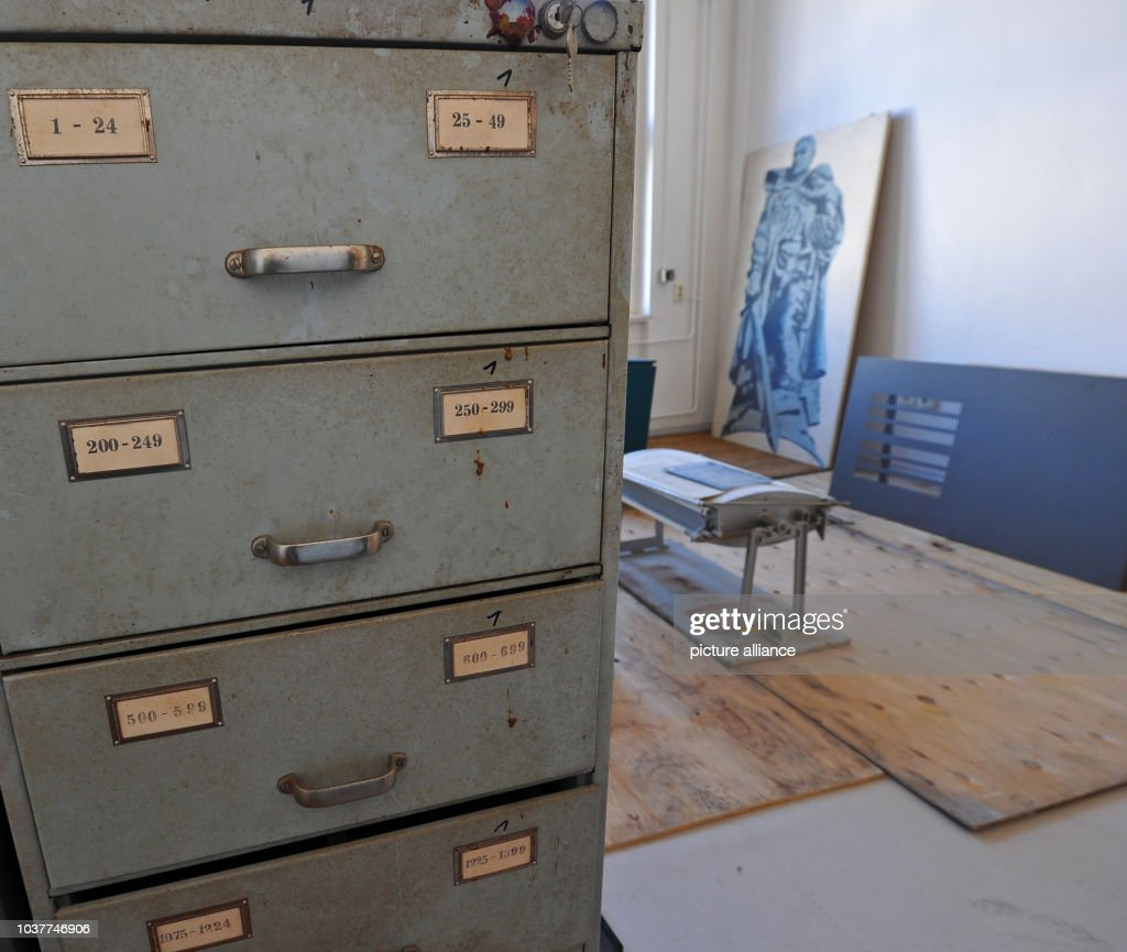 Stasi memorial site Dresden : News Photo