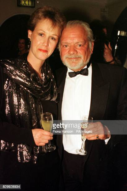 File dated 17/5/97 of Touch Of Frost star David Jason and girlfriend Gill Hinchcliffe Mr Jason Friday January 12 admitted he has mixed emotions about...