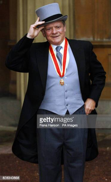 PA file image dated Thursday December 1 2005 showing actor Sir David Jason who is set to star in Sky One's forthcoming TV film adaptation of Terry...