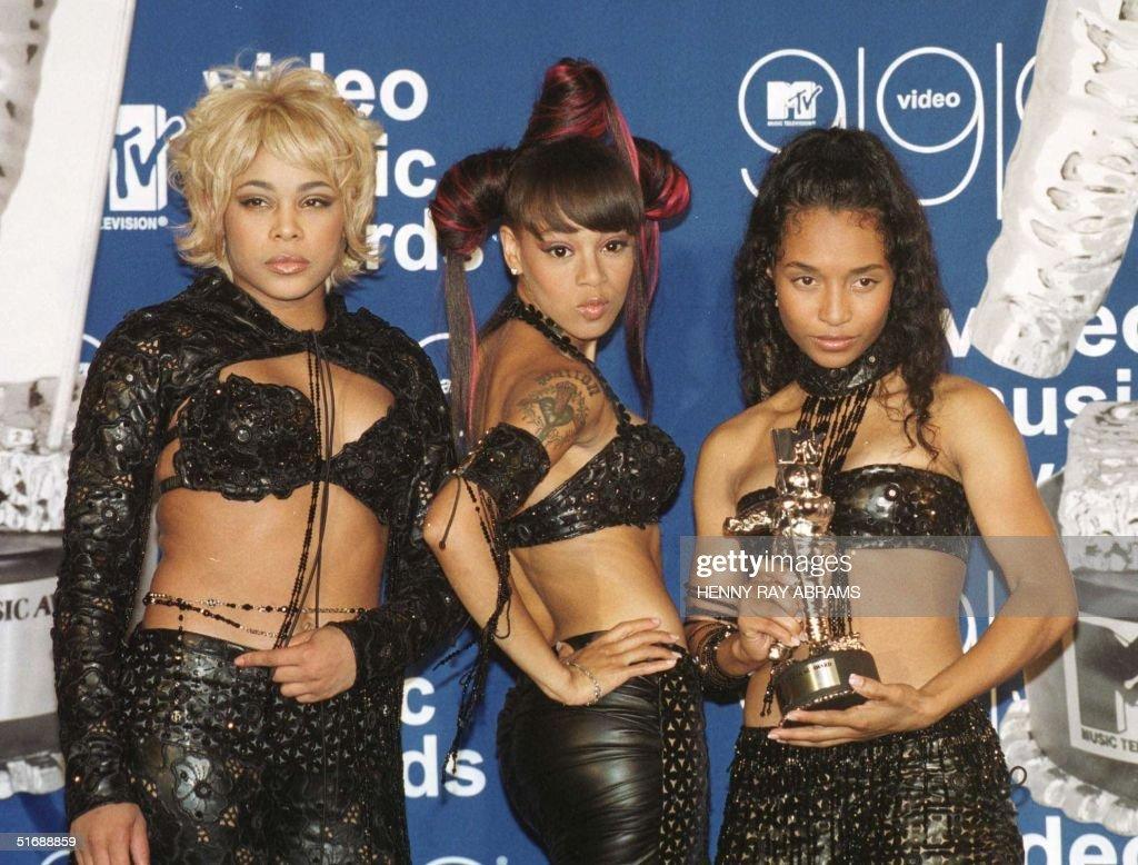 TLC Accept MTV Award : News Photo
