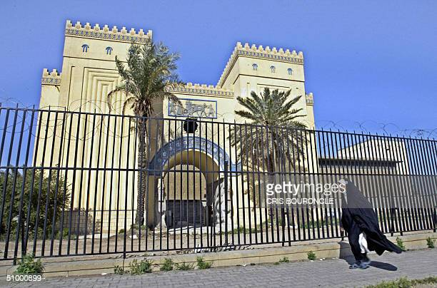A file photo dated 13 March 2004 shows Iraq's national museum in Baghdad Order has returned to the troubled Iraq Museum and reconstruction is well...