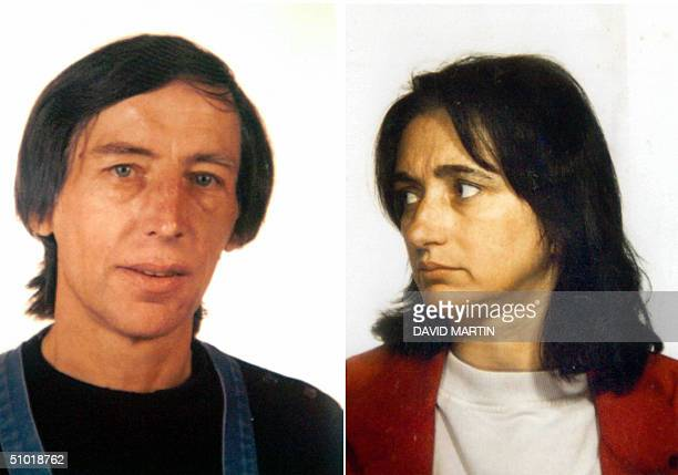 A file photo dated 1992 shows alleged French pedophile and serial killer Michel Fourniret then 50 and his wife Monique Olivier Fourniret appears to...