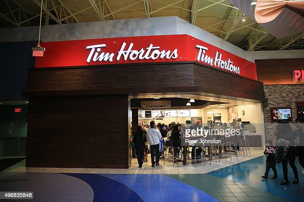 TORONTO ONTARIO NOVEMBER 11 2015 File Photo for any use a Tim Hortons store at Vaughn Mills NOVEMBER 11 2015