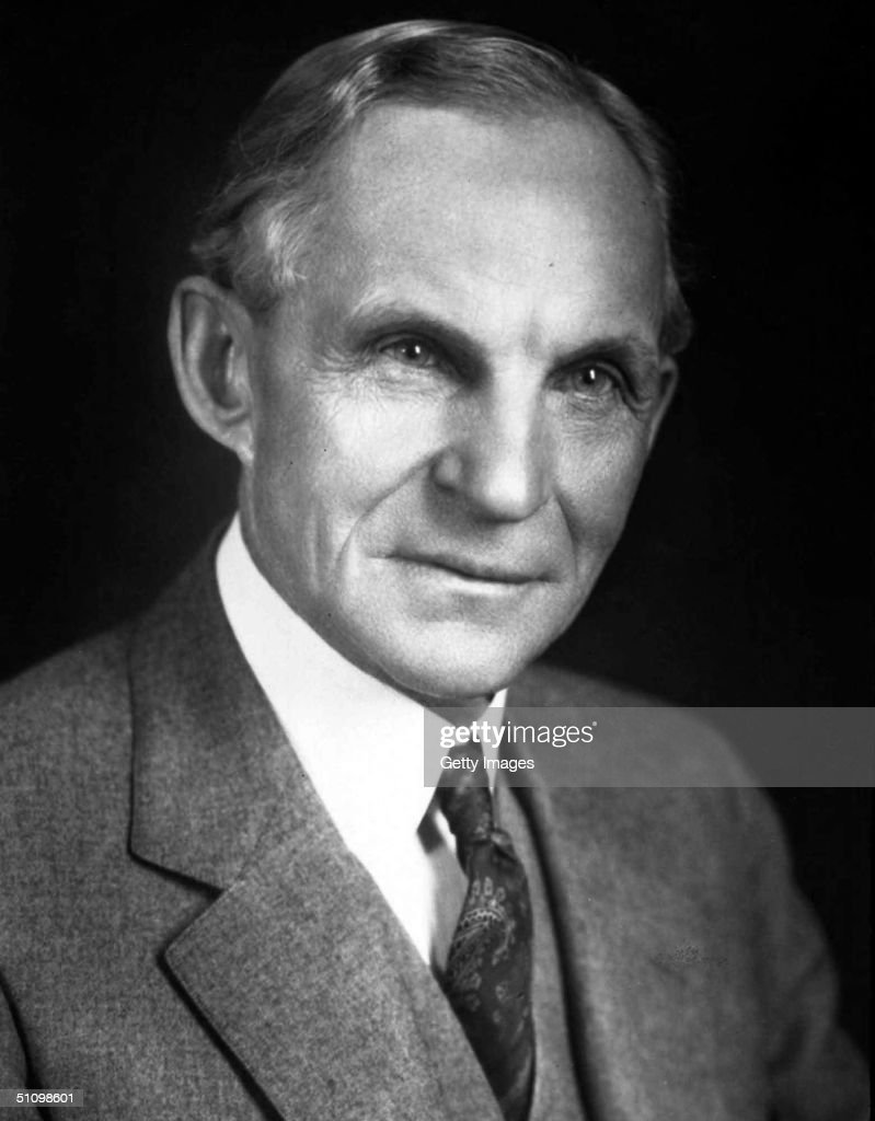 Henry Ford (1863 1947 Founder Of The Ford Motor Company : News Photo