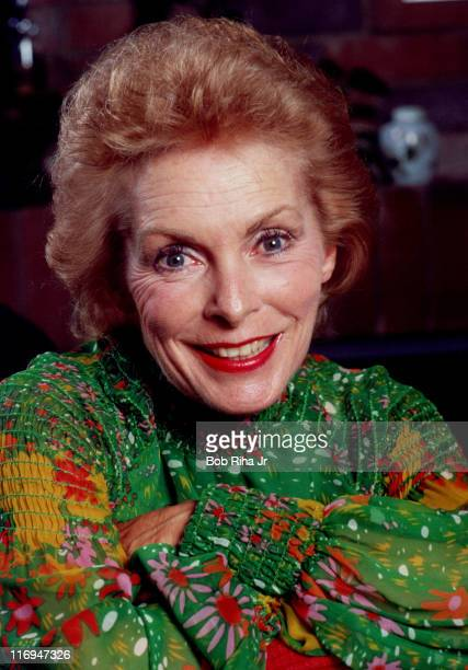 File photo of actress Janet Leigh taken at her home in Los Angeles, Calif. 10/4/84.