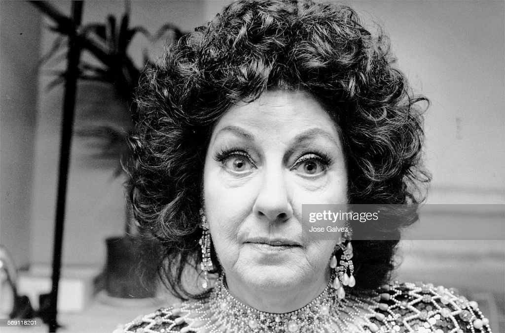1984 file photo of actress/singer Virginia O'Brien. : News Photo