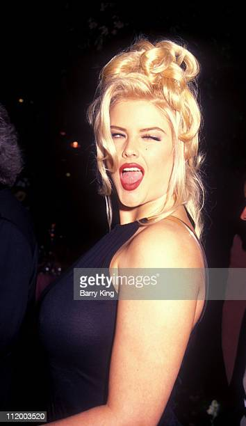 1994 file photo of Anna Nicole Smith at a Naked Gun 33 1/3 Premiere