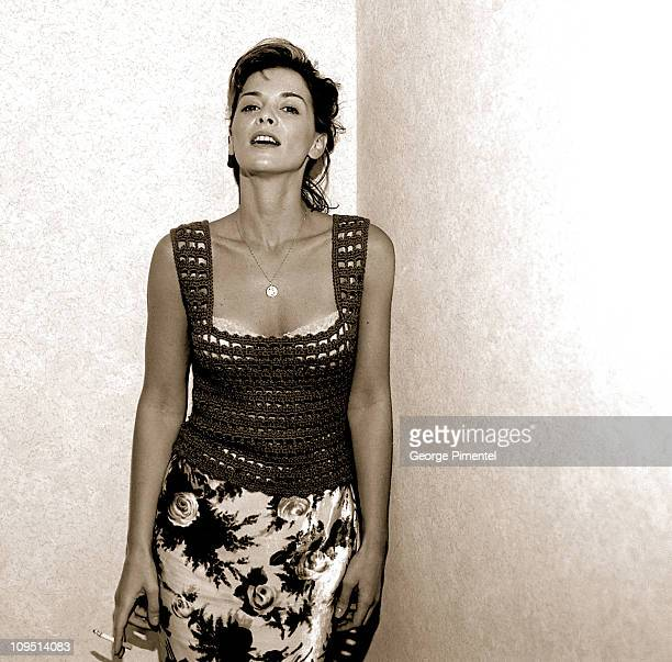 File Photo of Annabella Sciorra Sept 1996 during Annabella Sciorra Portraits by George Pimentel at Four Seasons Hotel in Toronto Ontario Canada