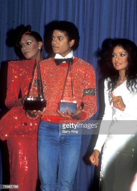 1981 file photo of Bonnie Pointer Michael Jackson his sister LaToya Jackson at the American Music Awards
