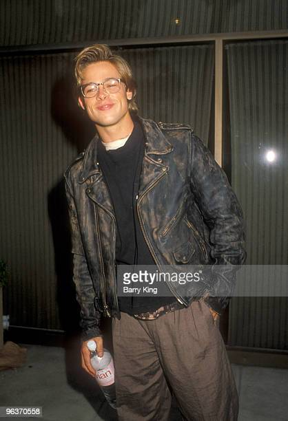 File Photo of Brad Pitt in Los Angeles California at a screening and party for the film Red Heat