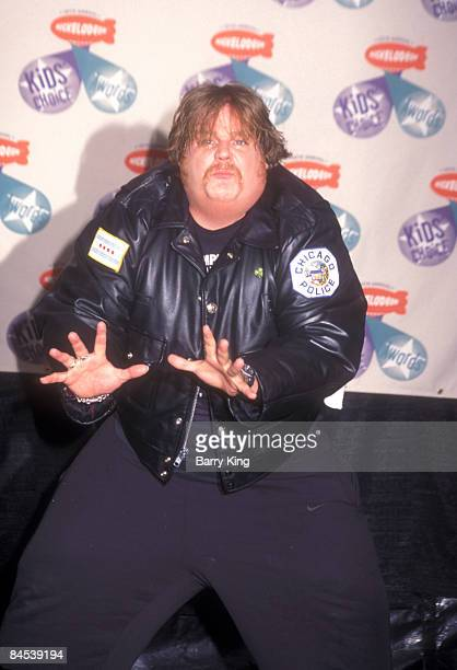File Photo of Chris Farley at the 10th Annual Kids Choice Awards April 19 1997