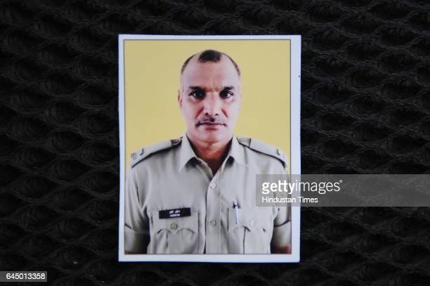 File photo of Hari Om the leading fireman who lost his life when a cylinder blasted while dousing the fire in Vikaspuri early this morning on...