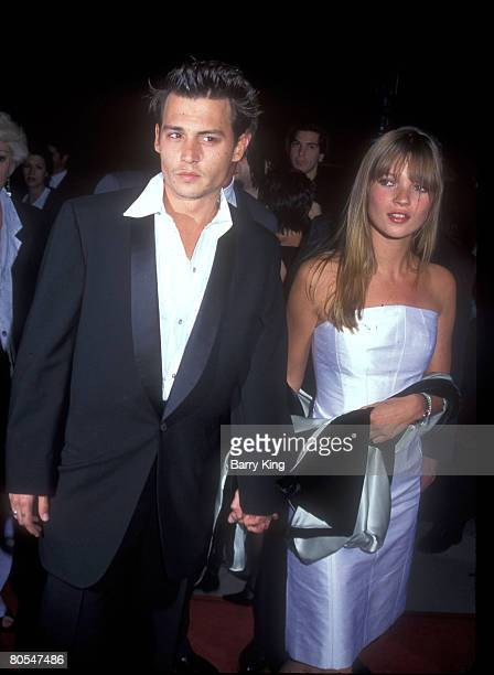 1995 file photo of Johnny Depp Kate Moss