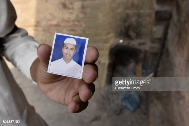 A file photo of Junaid a 15yearold Junaid who was murdered after a scuffle that broke out in a train over a seat in Haryana's Palwal at Ballabgarh in...