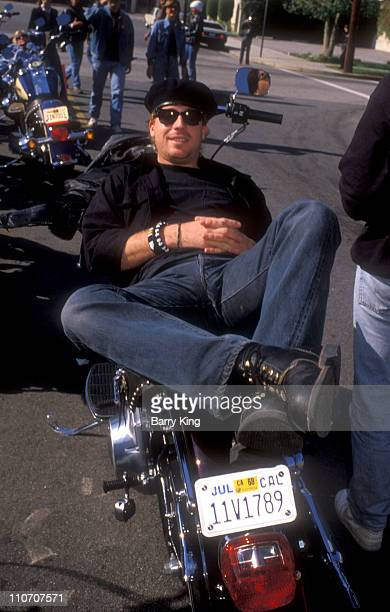 File Photo of Leif Garrett at Harley Ride Event in Los Angeles California on November 8 1987