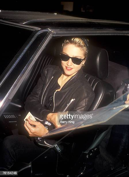 File Photo of Madonna in Los Angeles on October 29, 1987