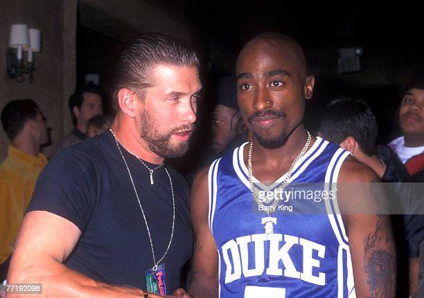 1996 file photo of Stephen Baldwin Tupac Shakur