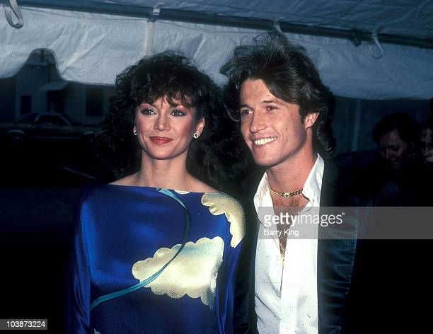 1981 file photo of Victoria Principal Andy Gibb attending the Peoples Choice Awards