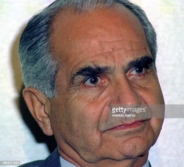 File photo show that Former Turkish general, and one of the leaders of the 1980 military coup, Tahsin Sahinkaya who died at the age of 90 in a...