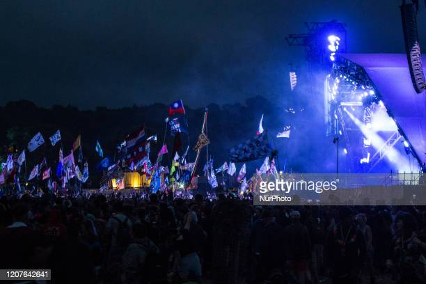 File photo show the Glastonbury Festival 2017, in Glastonbury, United Kingdom. Glastonbury announce this years festival will be cancelled due to...