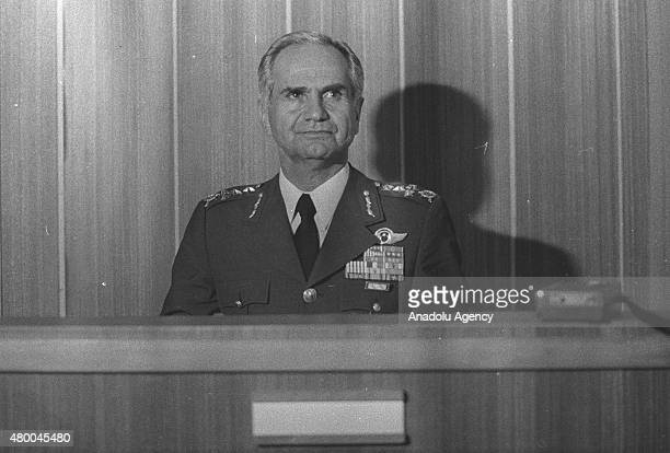 File photo shows that former Turkish general, commander of the Turkish Air Force from 1978 to 1983, former Secretary-General of the National Security...
