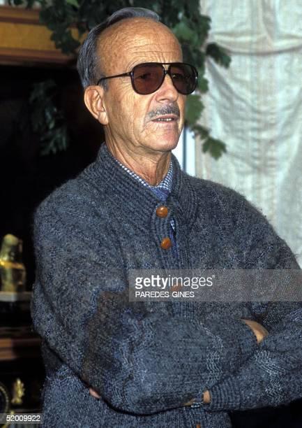 File photo taken in 1995 shows Spanish doctor Julio Iglesias Puga father of famous singer Julio Iglesias Spanish crooner and father of seven Julio...