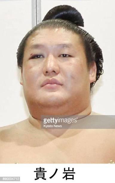 File photo taken in July 2016 shows sumo wrestler Takanoiwa Police referred former sumo grand champion Harumafuji to prosecutors on Dec 11 2017 for...