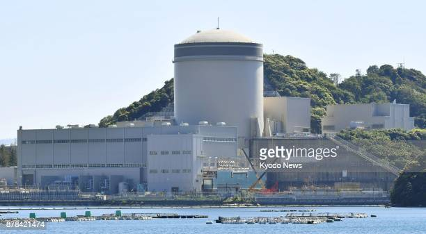 File photo taken May 18 shows the No 3 reactor at the Kansai Electric Power Co's Mihama nuclear plant in Fukui Prefecture central Japan ==Kyodo