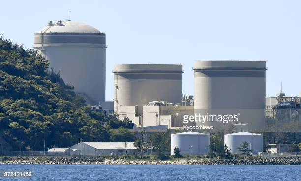 File photo taken May 18 shows the Nos 1 2 and 3 reactors at the Kansai Electric Power Co's Mihama plant in Fukui Prefecture ==Kyodo