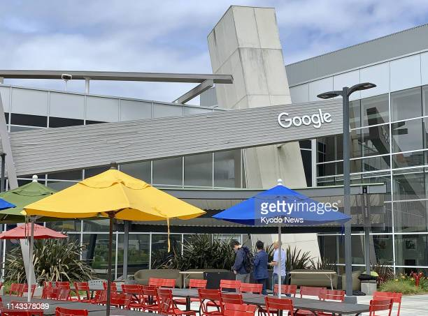 File photo taken May 6 shows Google LLC's headquarters in Mountain View California ==Kyodo