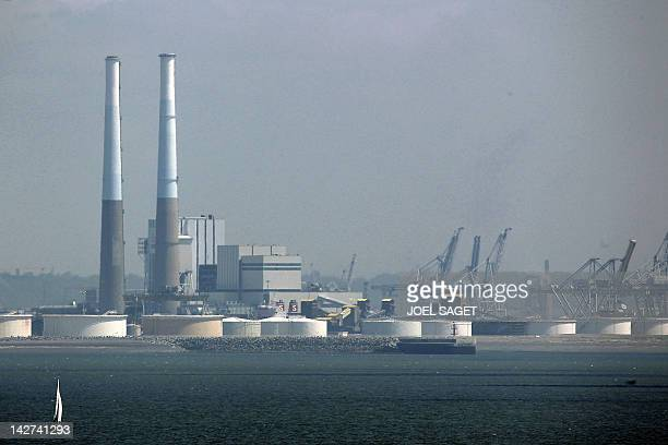 A file photo taken on May 21 2010 shows the Le HavreAntifer crude oil storage center near the western French harbor of Le Havre The International...