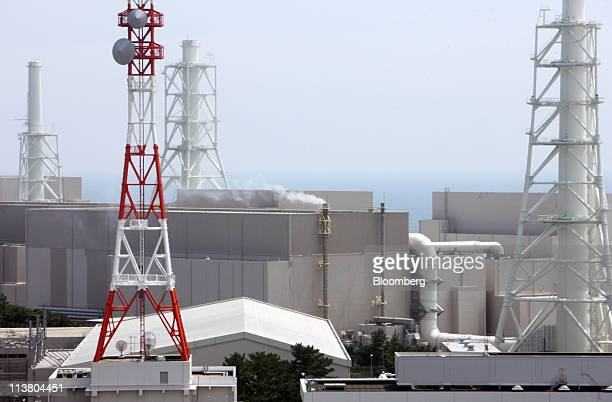 A file photograph shows Chubu Electric Power Co's Hamaoka nuclear power station in Omaezaki City Shizuoka Prefecture Japan on Friday Aug 21 2009...