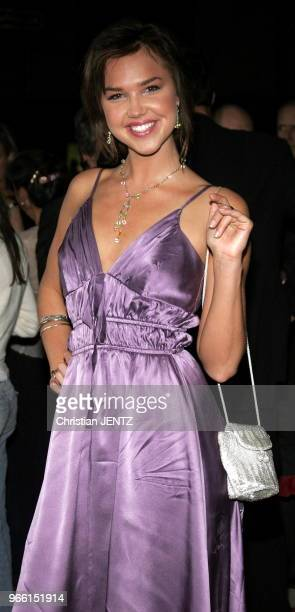 File Photos Beverly Hills Arielle Kebbel attends the Los Angeles Premiere of In Her Shoes held at the Academy of Motion Pictures Arts and Sciences in...
